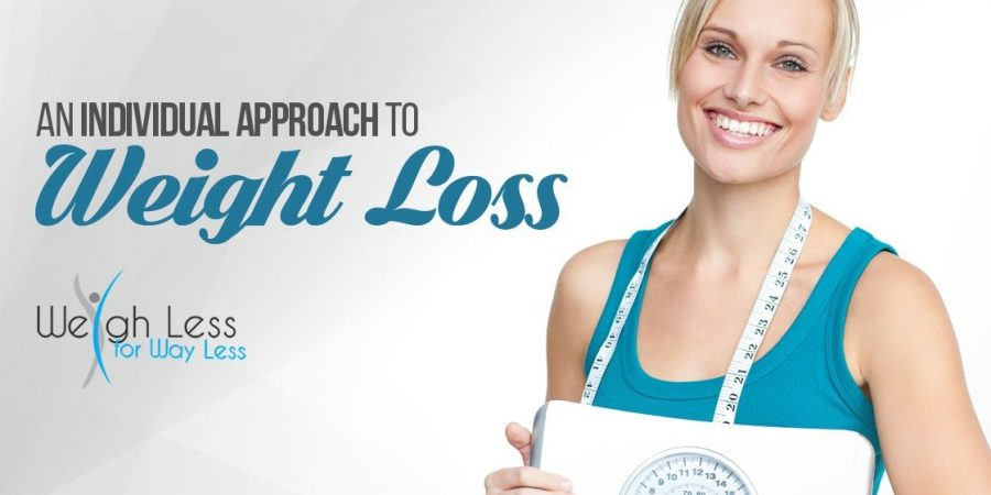 An Individual Approach to Weight Loss - Weigh Less for Way Less